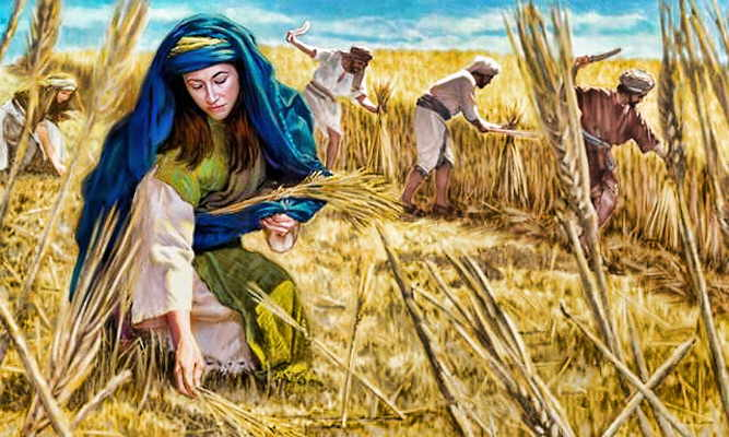 Image result for ruth bible art
